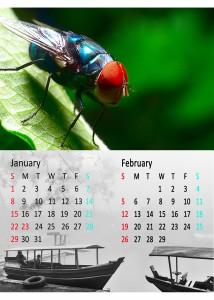 kalender 2 bulan