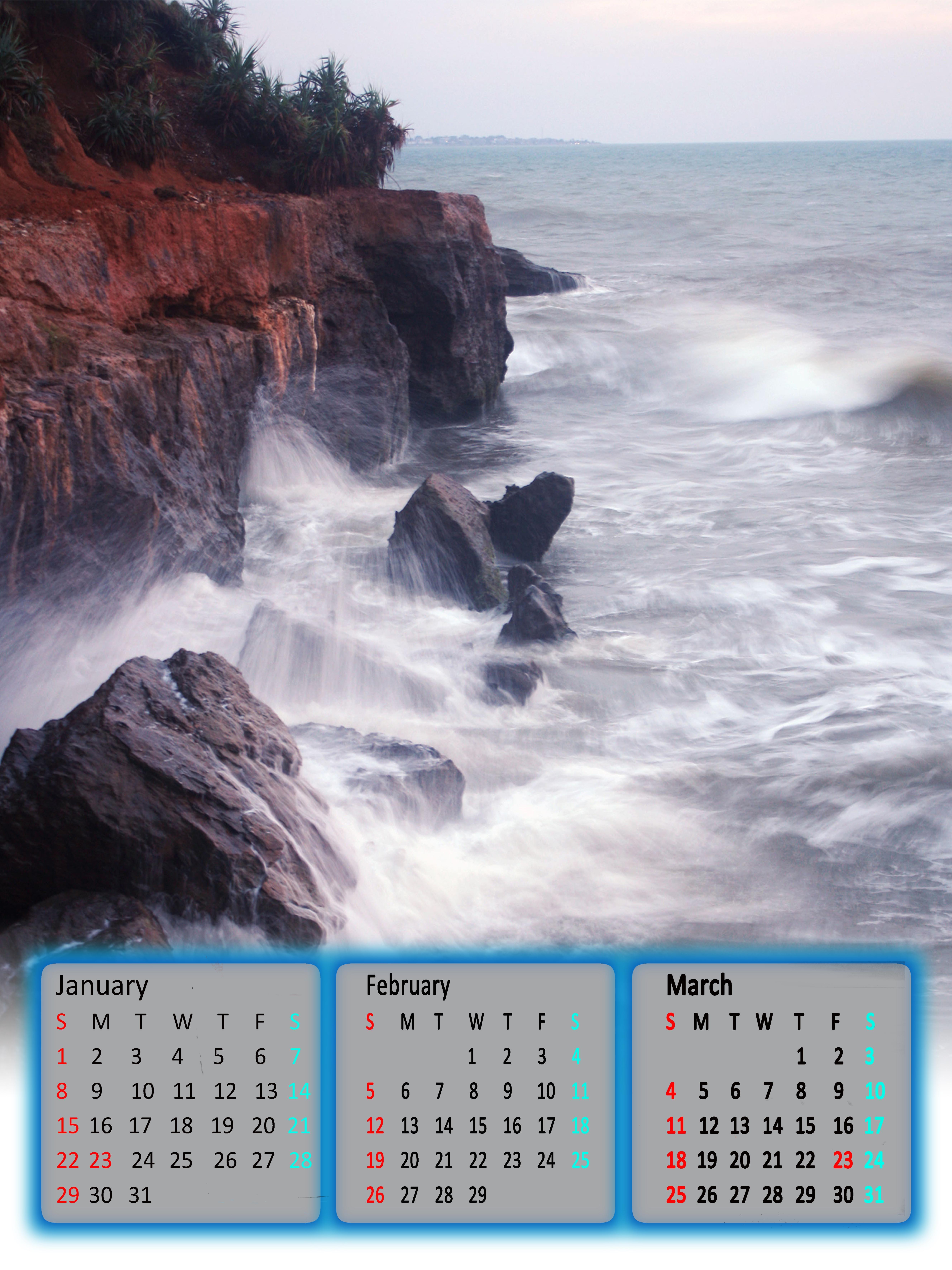 kalender 3 bulan